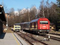 Az ÖBB 2016 001 Friedberg állomáson
