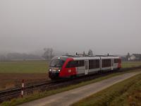 The ÖBB 5022 043-1 seen between Übersbach and Fürstenfeld