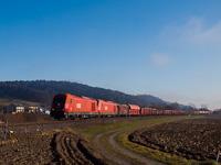 Az ÖBB 2016 054 tehervonattal Gniebling és Rohr között