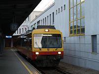 A Montafonerbahn ET 10.110 Bludenz állomáson