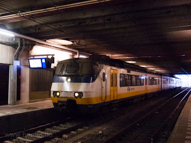 An NS Printer (PLAN Y) multiple unit seen at Utrecht Centraal photo