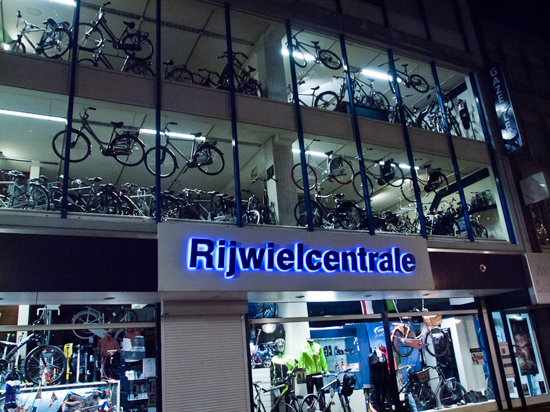 Bike shop at Eindhoven photo