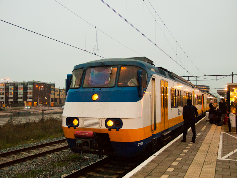 The NS Plan Y Sprinter trainset number 2938 seen at Alphen a/d Rijn station photo