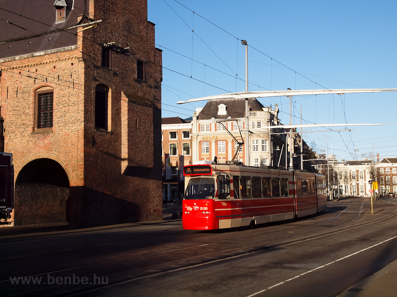 Refurbished tram in The Hague photo