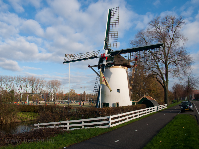 Roomburger Windmill at Leiden photo