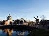 Morspoort, the Western gate of Leiden