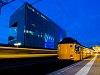 A Nederlandse Spoorwegen (NS) Koploper 4036 Leiden Centraal állomáson