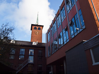 The main building of Stedelijk Gymnasium