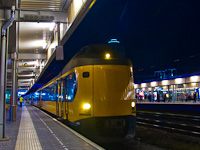 NS Koploper Leiden Centraal állomáson