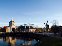 Morspoort, the Western gate of Leiden