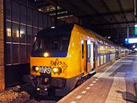 The NS NID (Nieuwe Intercity Dubbeldekker) number 7513 seen at Eindhoven