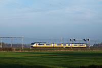 Egy NS Plan Y Sprinter motorvonat De Vink és Voorschoten között