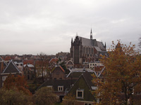View from the fortress of Leiden