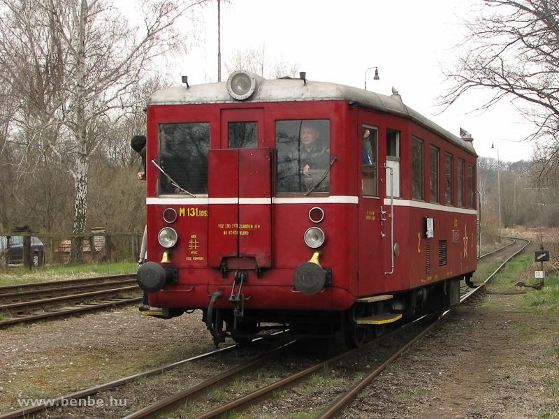 Az M 131.1053 Kishalom állomáson tolat fotó