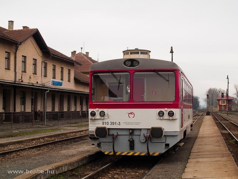 A ŽSSK 810 391-3 Füleken fotó