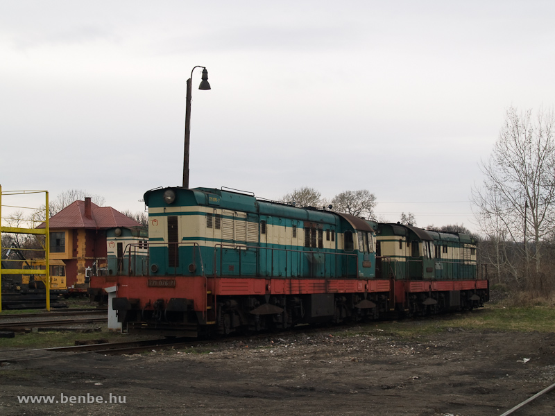 A ŽSCS 771 076-7 Füleken fotó