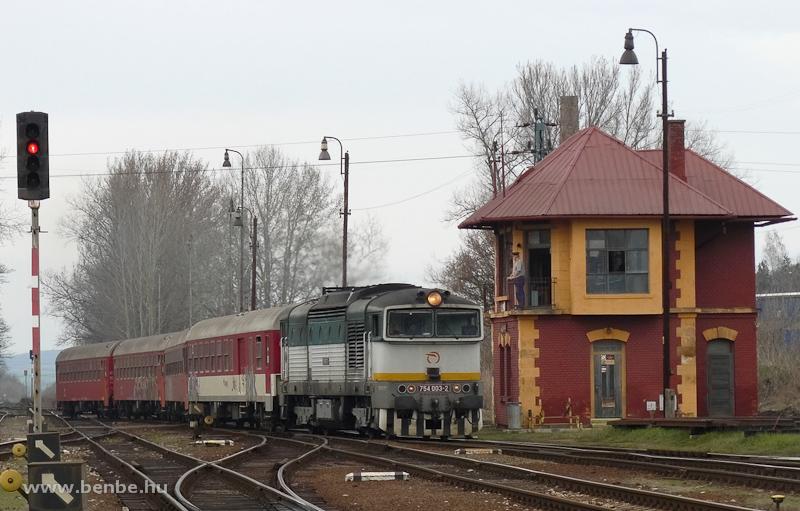 A ŽSSK 754 003-2 Füleken Füleken fotó
