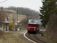 The M 131.1053 at Ráróspuszta stop