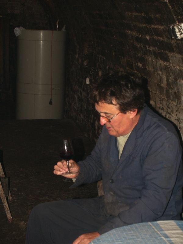 Egy villányi borpincében fotó