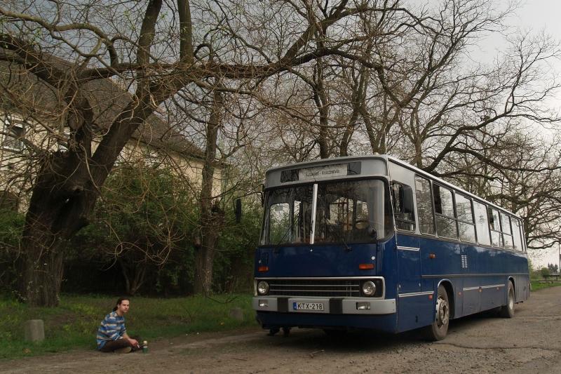 Ex budapesti, botváltós VT-Transman busz Sárbogárdon fotó