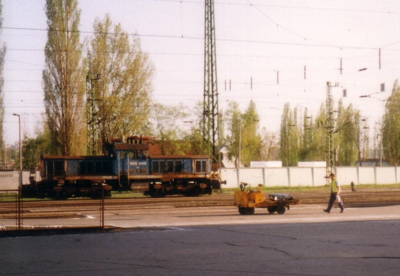 The  V46 048 at Pécs photo
