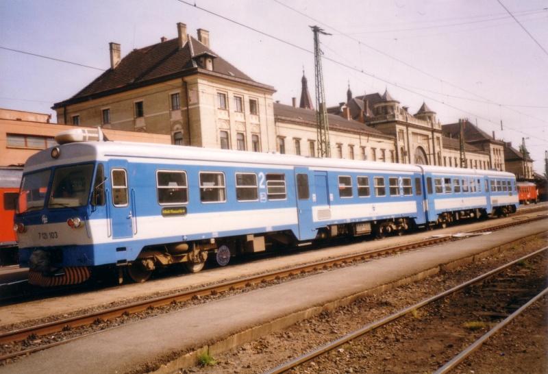 Amikor rendes kishatárforgalom volt - a HZ 7 121 103 Pécs állomáson fotó