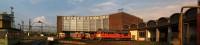 Bzmot 314, M47 1312, M47 1231, Bzmot 321, M28 1003 és M62 305 a székesfehérvári fűtőházban