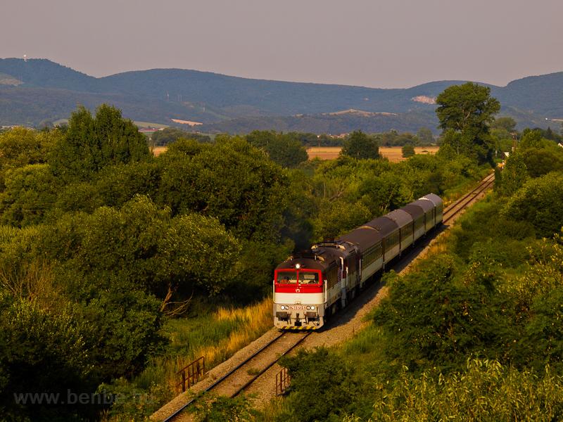 A ŽSSK 754 073-5 Ipolygalsa és Losoncz között fotó