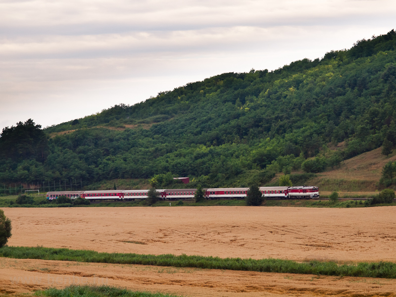 A fast train near Šíd photo