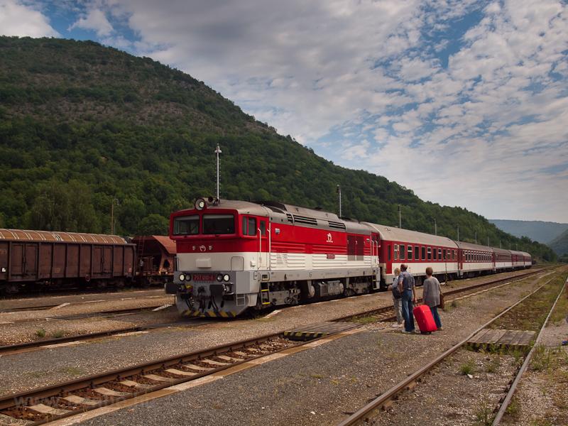 A ŽSSK 757 010-4 Pels& fotó