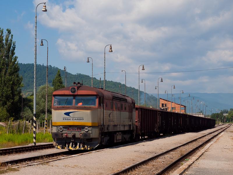 A ŽSSKC 751 125-6 Hizsnyóvíz állomáson fotó