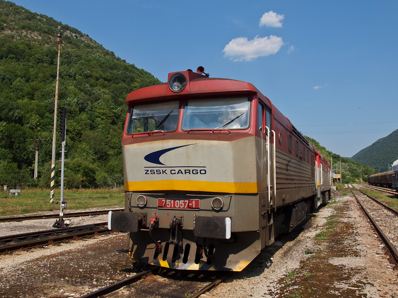 The ŽSSKC 751 057-1 se photo