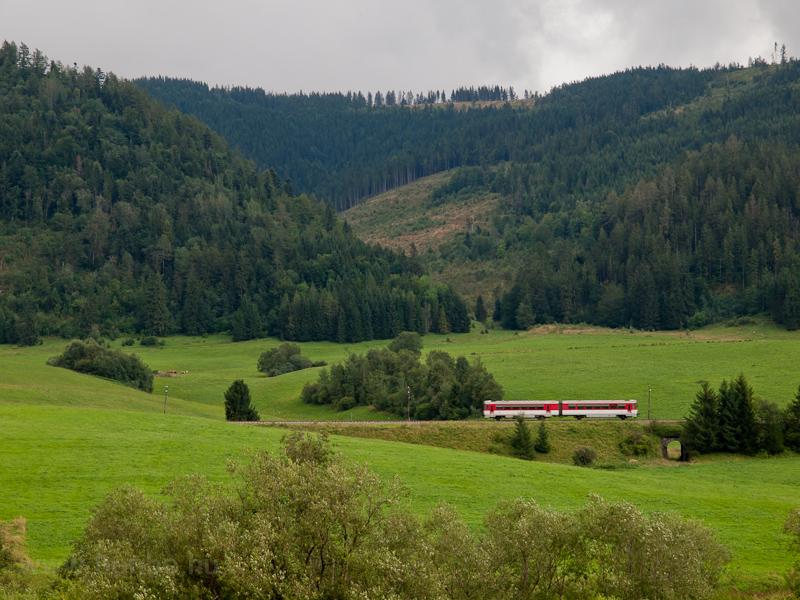 A ŽSSK 813 railcar see photo