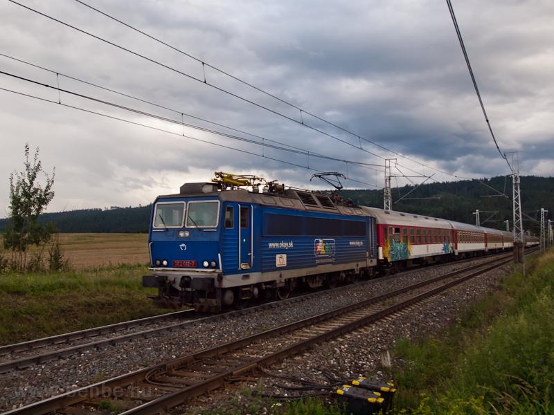 A ŽSSK 362 012-7 Filefalva-Gánócfürdő és Poprád-Felka között fotó