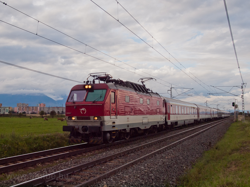 The ŽSSK 350 017-0 see photo