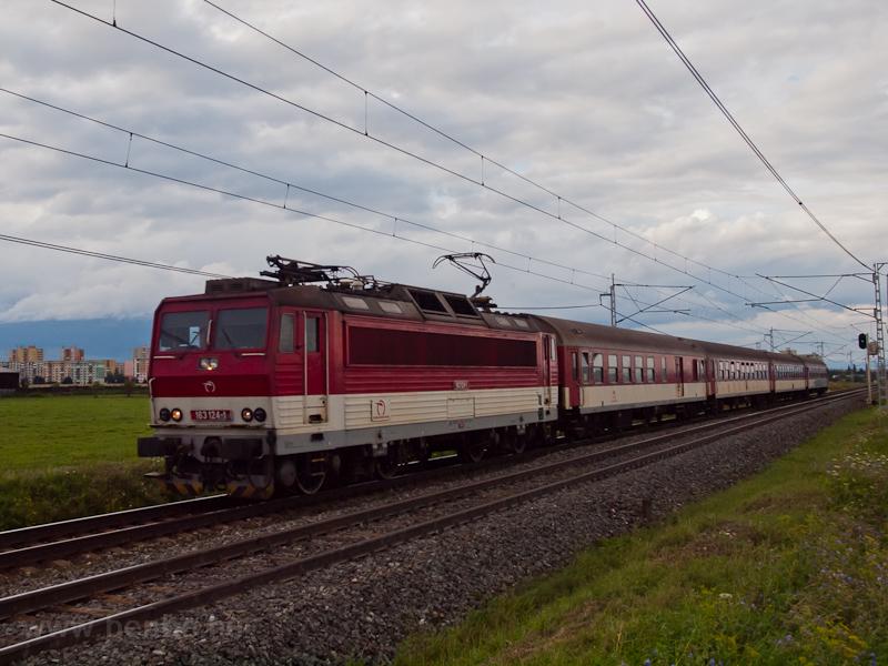 A ŽSSK 163 124-1 Poprá fotó