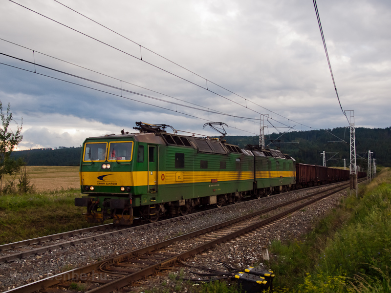 The ŽSSK 131 056-4 seen between Ganovce and Poprad-Tatry photo