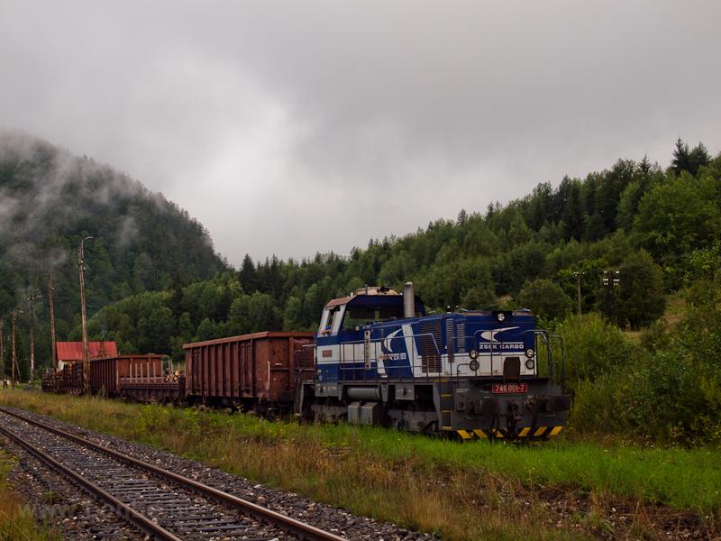 A ŽSSKC 746 001-7 Nándorhuta állomáson fotó