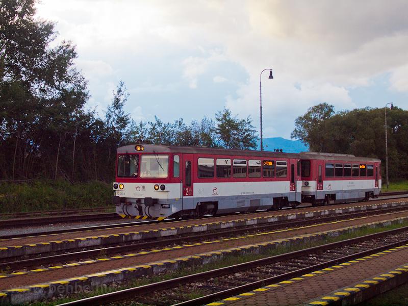 Az ŽSSK 812 059-4 Turócdivék állomáson fotó