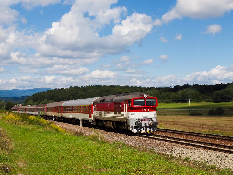 A ŽSSK 757 011-2 Zvole fotó