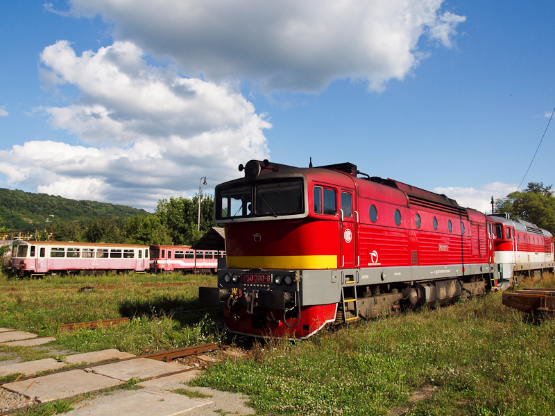 The ŽSSK 750 300-6 see photo