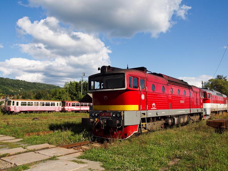 A ŽSSK 750 300-6 Fülek fotó