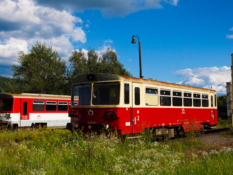 The ŽSSK 810 604-3 seen at Fülek photo
