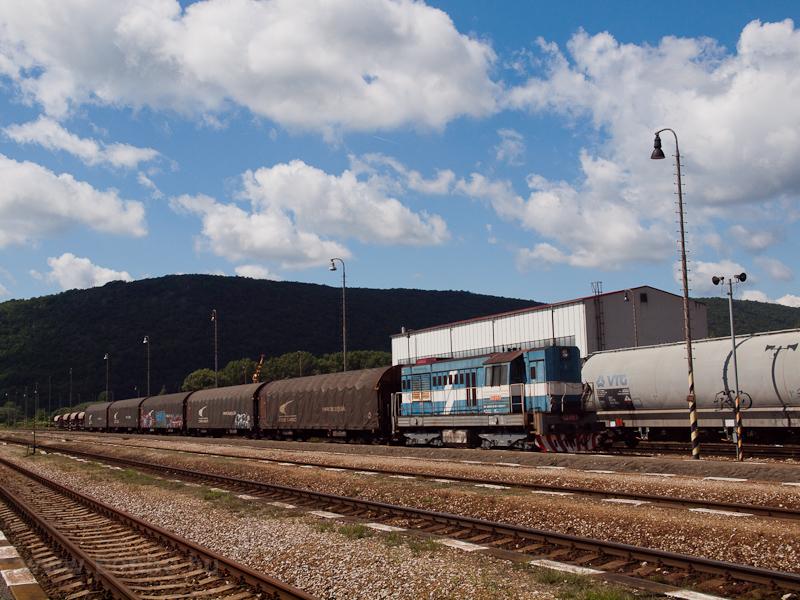A ŽSSKC 742 611-7 Pelsőcz állomáson fotó