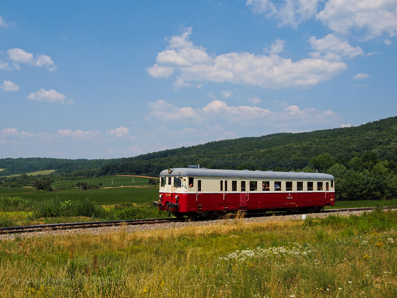 The KŽC Doprava M 262 0124 seen between Hucín and Gemerská Hôrka zastávka photo