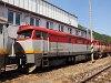 A ŽSSKC 751 036-5 Pelsőcz állomáson