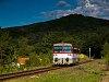 A ŽSSK 812 055-6 Ajnácskő állomáson