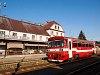 A ŽSSK 812 037-4 Rimaszombat állomáson