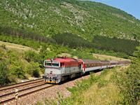 A ŽSSK 754 003-2 Tornagörgő és Szádalmás között