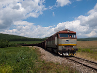 The ŽSSKC 751 125-6 seen between Hucín and Gemerská Hôrka zastávka